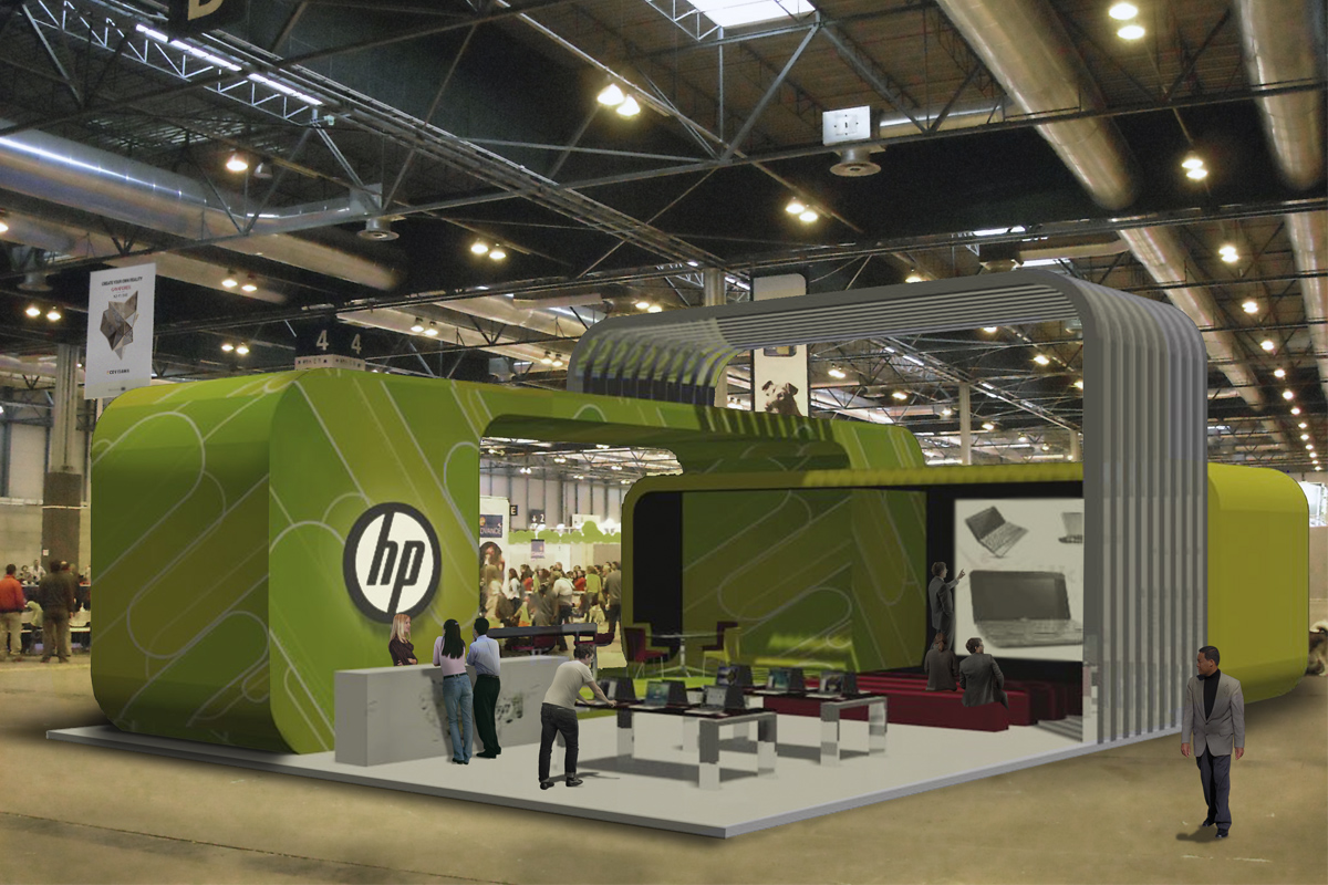 Project Stand HP. Ephemeral architecture design